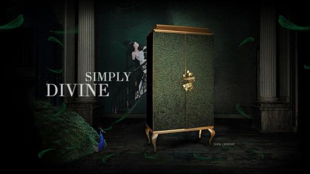 JANET MORAIS — изысканный современный дизайнер divine armoire