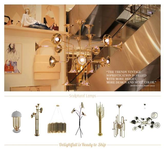 Лучшие дизайнерские проекты: великолепные люстры создают уникальный интерьер квартиры в Москве                                                                   Delightfull Printemps Haussman Vogue Paris