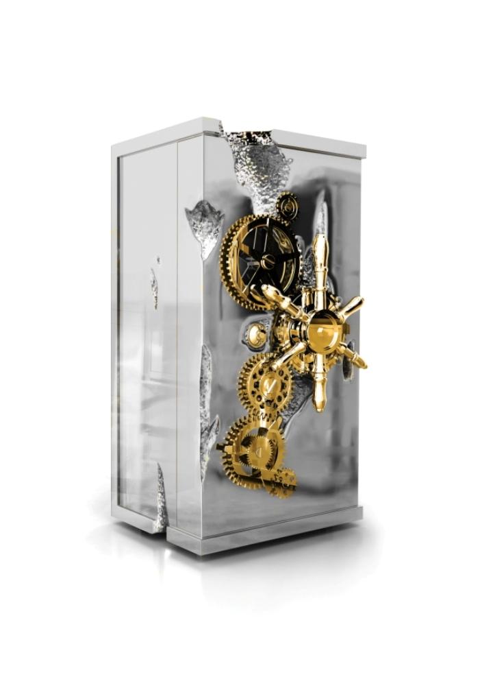 Топ_роскошных _мероприятий- Международная выставка_часов_и _ювелирных _изделий- Baselworld 2014-сейф-Boca_do_Lobo