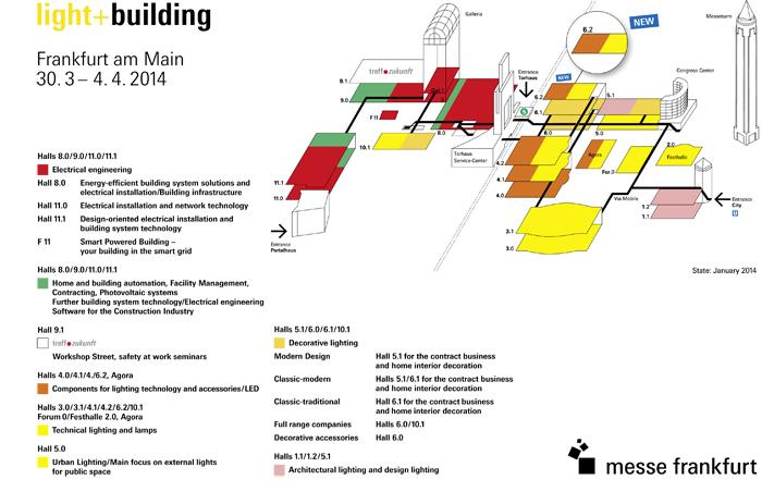 Крупнейшая международная выставка архитектуры и осветительной техники Light + Building_0_0  Крупнейшая международная выставка архитектуры и осветительной техники: Light + Building 2014                                                                                                                                      Light   Building 0 0