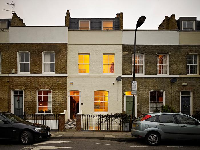 Проект в деталях Таунхаус в Лондоне _11