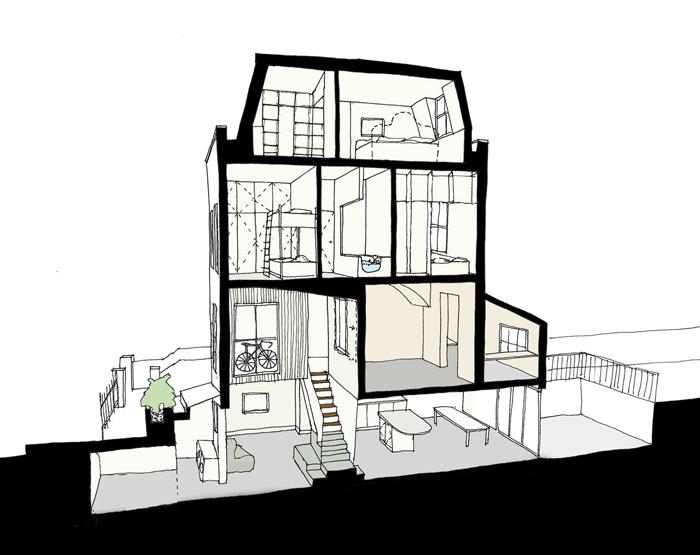 Проект в деталях Таунхаус в Лондоне _12