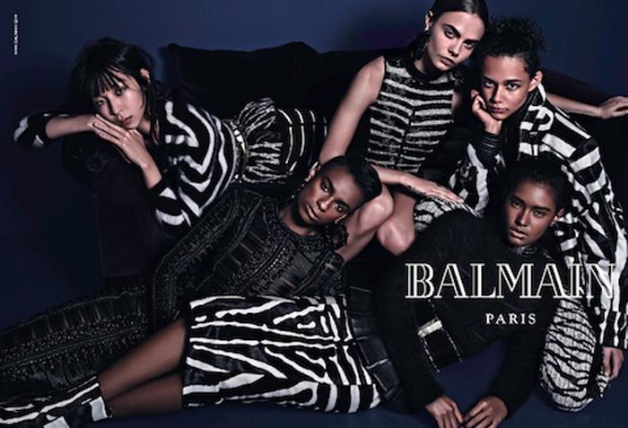 ЭКСКЛЮЗИВ Новая осенняя рекламная компания Balmain Reality_2