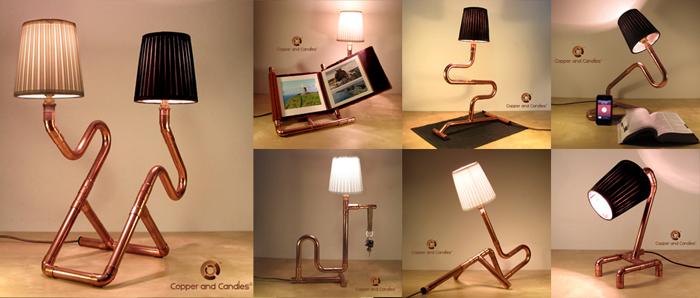 10 Медных светильников в Archiproducts_16