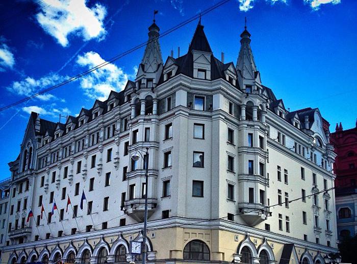 Отель Marriott Royal Aurora