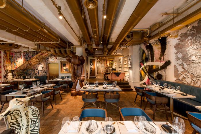 Элитный Французский ресторан в богемном стиле                                                                                       1