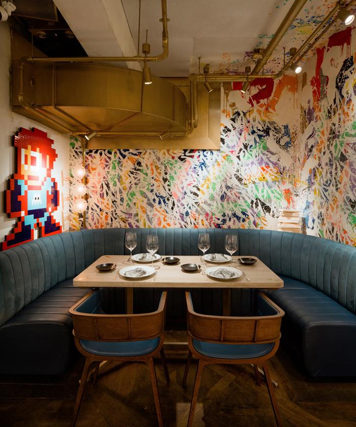 Элитный Французский ресторан в богемном стиле_11