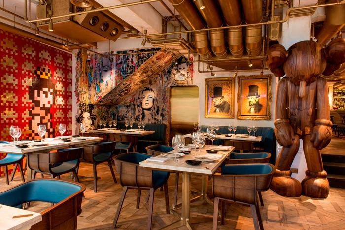 Элитный Французский ресторан в богемном стиле_2