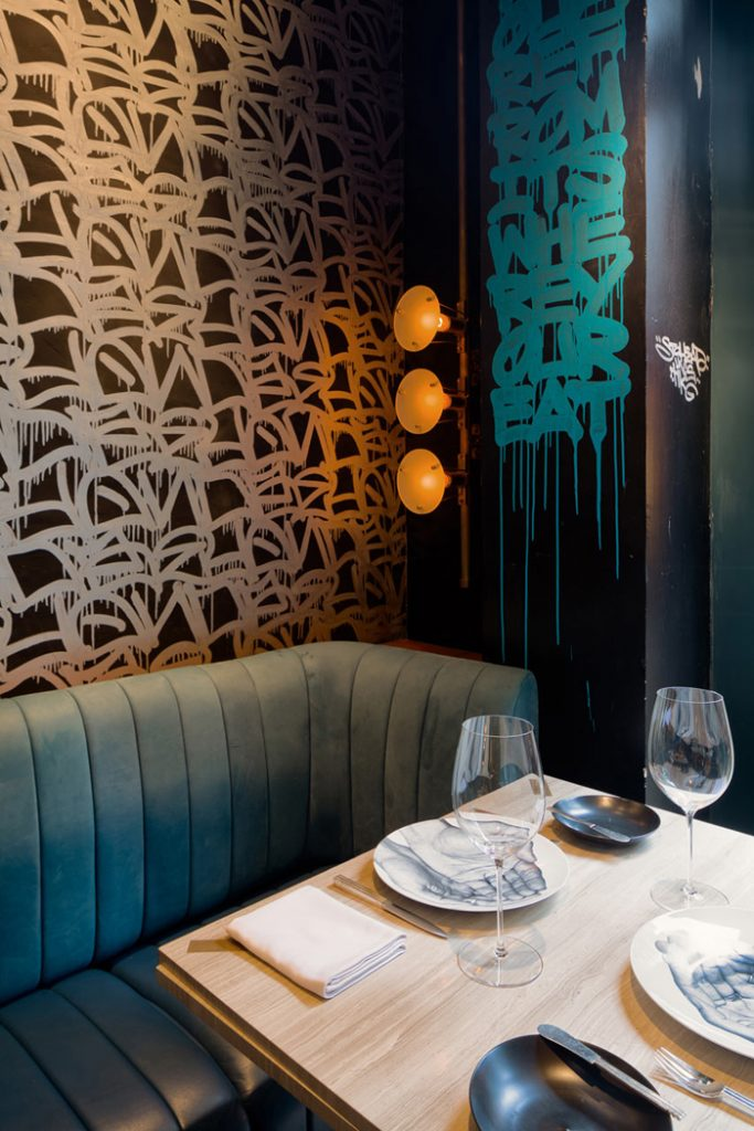 Элитный Французский ресторан в богемном стиле_5