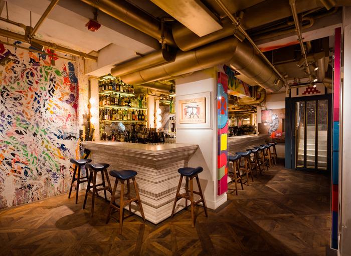 Элитный Французский ресторан в богемном стиле_9