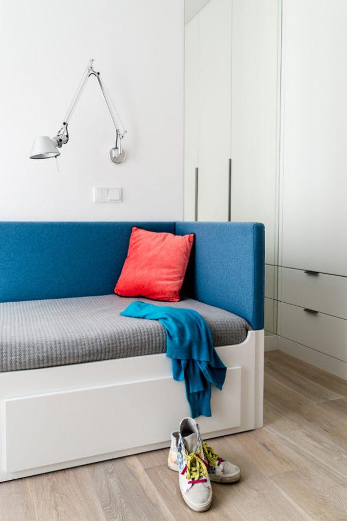 Квартира с яркими деталями в городе Гдыня - Польша_16