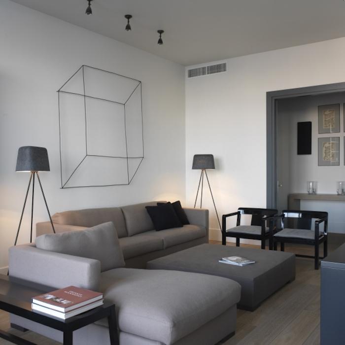 Квартира_2010_2  Оттенки серого: современный интерьер дизайн от SUITE Home Interiors                  2010 2