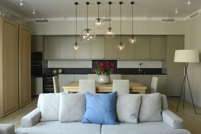 Квартира_2013  Оттенки серого: современный интерьер дизайн от SUITE Home Interiors                  2013