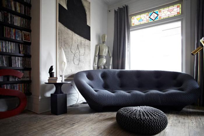 Потрясающие декоративные диваны для гостиной_01
