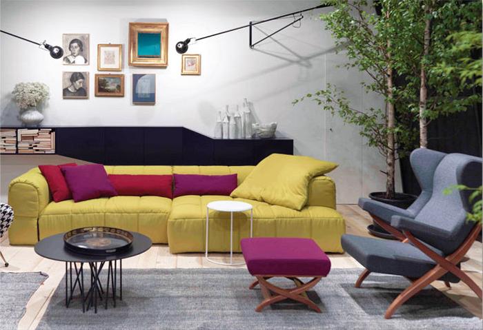 Потрясающие декоративные диваны для гостиной                                                                                      041