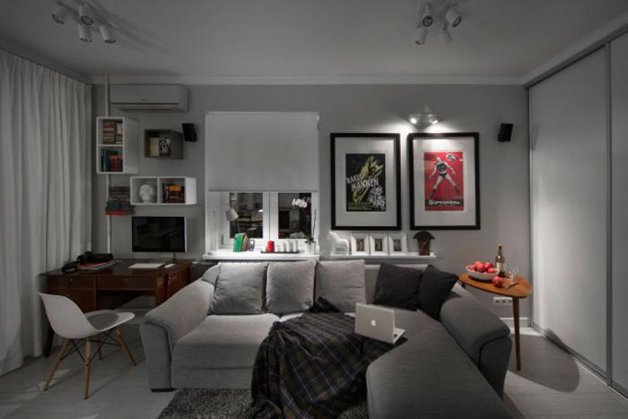 Потрясающие декоративные диваны для гостиной_11