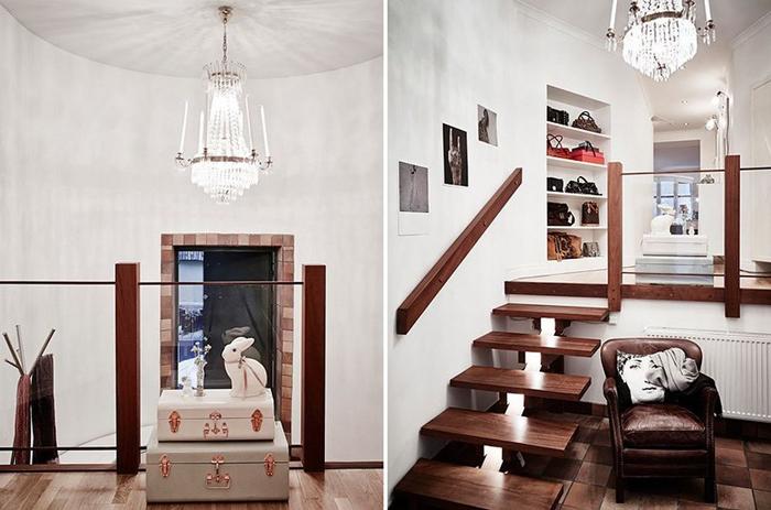 Ретро Современная Квартира С Текстурным Разнообразием_11