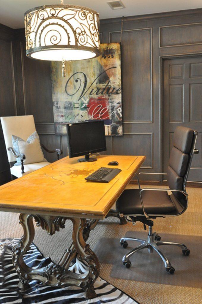 20 идей дизайна и декора домашнего офиса_08