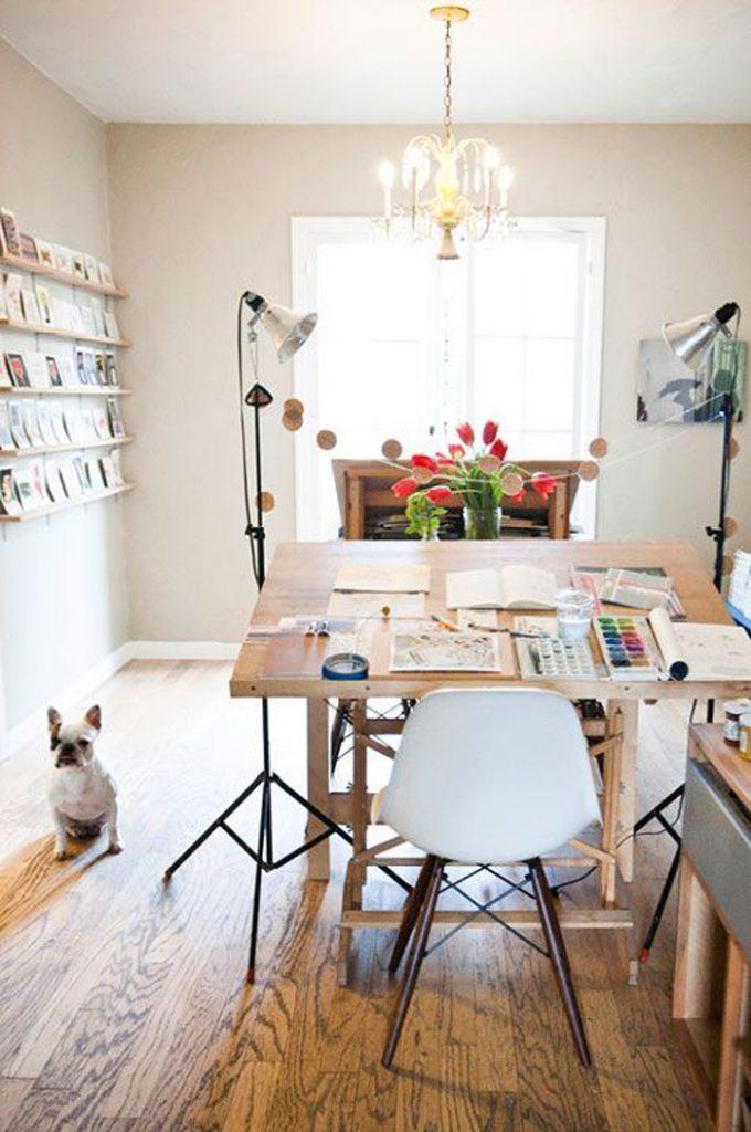 20 идей дизайна и декора домашнего офиса_15
