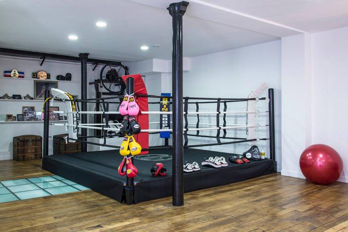 Современный тайский боксерский зал  проект Spray Architecture_07