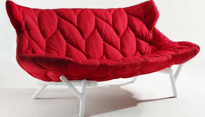 Топ-5.Самые модные красные диваны