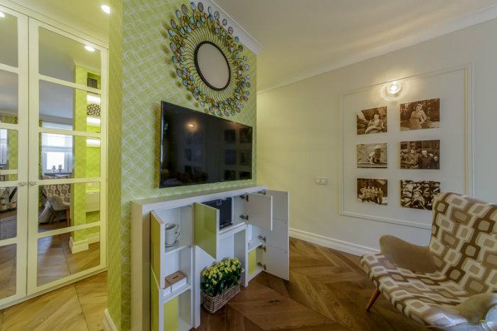 Квартирные интерьеры от Катерины Леваллуа