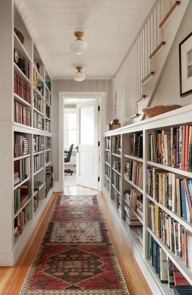 Вдохновение недели   библиотеки в доме_01