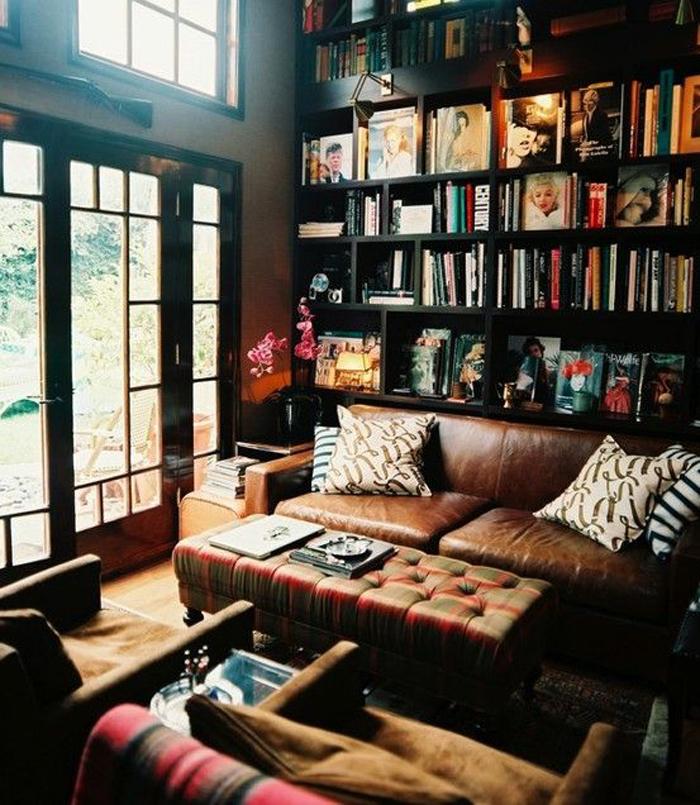 Вдохновение недели   библиотеки в доме_02