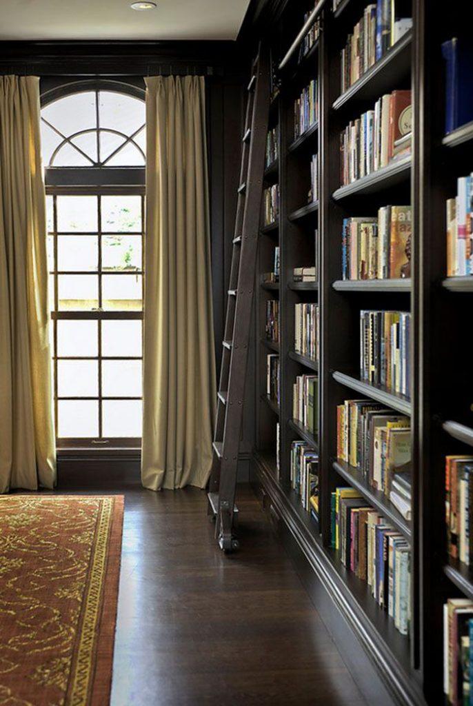 Вдохновение недели   библиотеки в доме_03