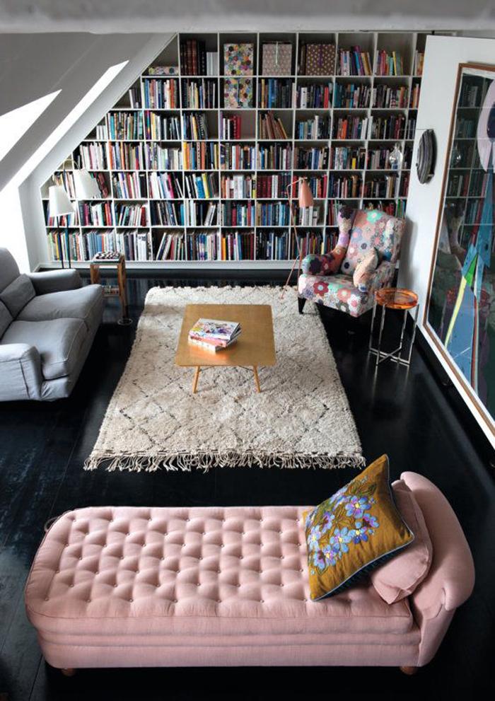Вдохновение недели   библиотеки в доме_05