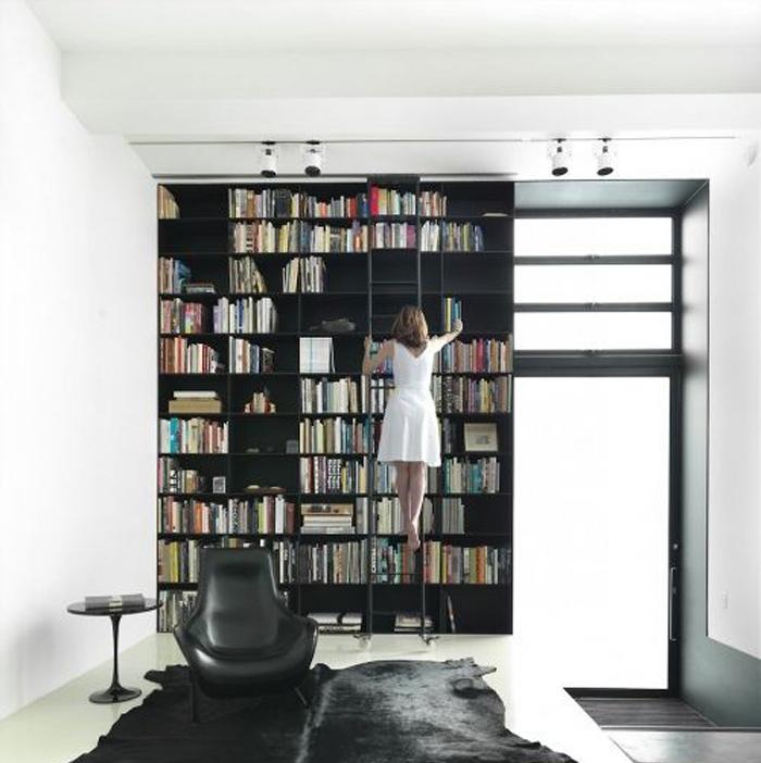 Вдохновение недели  : библиотеки в доме                                                                      16