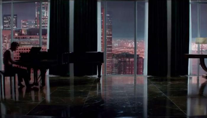 """Роскошная мебель в стиле фильма  """"50 оттенков серого"""" 50 shades grey trailer piano scene main"""