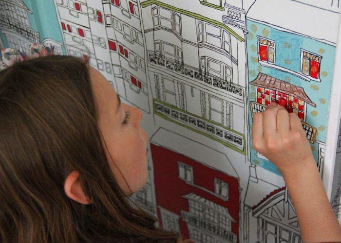 Le_Crayon_hqroom_ru_1  Воспоминания о детстве в проекте Джули Готрон для парижского отеля Le Crayon  Le Crayon hqroom ru 1