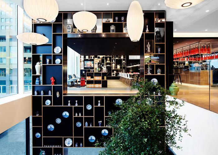 Проект : Модный Отель в Роттердаме                                                              01