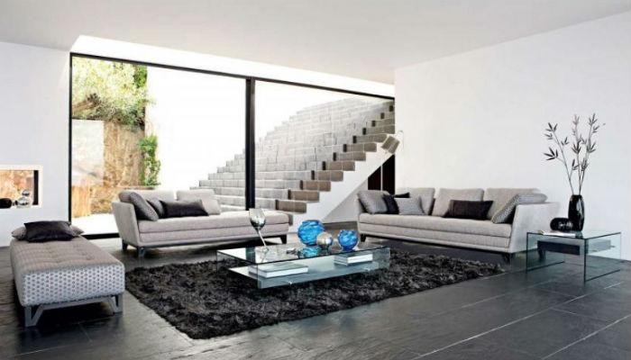 minimalist-living-room-decor-large-door-glass  Секреты гостиной в стиле минимализм minimalist living room decor large door glass