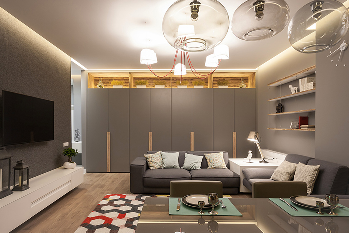 Проект  Интерьер квартиры в Днепропетровске_15