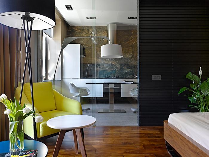 Проект : Интерьер квартиры в Москве                                                                00