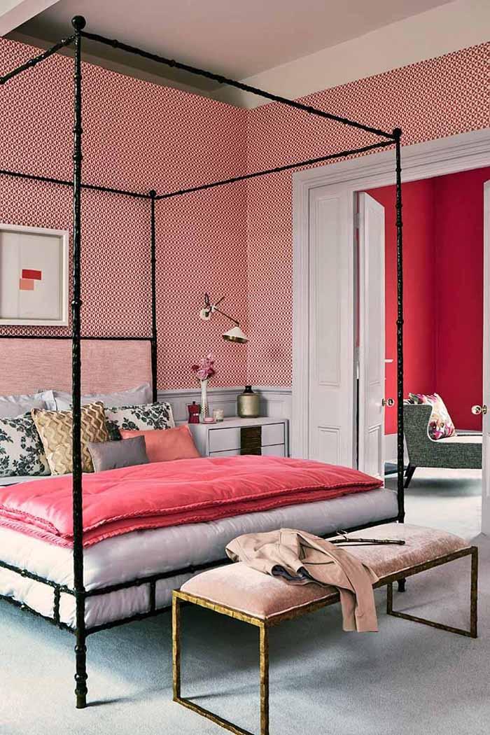Decorating with lipstick pinks  РОЗОВЫЙ ЦВЕТ В ИНТЕРЬЕРЕ: ПОЛЕЗНЫЕ СОВЕТЫ от Elle Decor                                                                                  Elle Decor 04