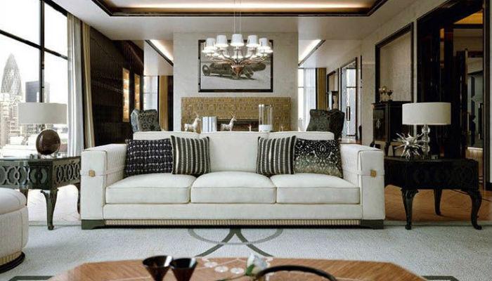 Ар-деко в интерьере: 5 главных особенностей art deco interior design living room furniture apartments in london