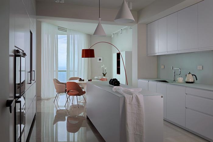 Интерьер Проект недели Квартира в Майами 02  Интерьер Проект недели: Квартира в Майами                                                                             021