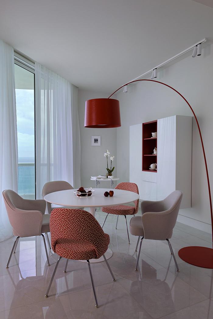 Интерьер Проект недели Квартира в Майами 04  Интерьер Проект недели: Квартира в Майами                                                                             04