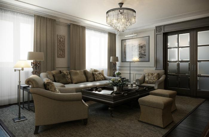 FUll House Design_dizayn-kvartiry-200-kv-m_pixlr  Частные интерьеры от Full House design FUll House Design dizayn kvartiry 200 kv m pixlr