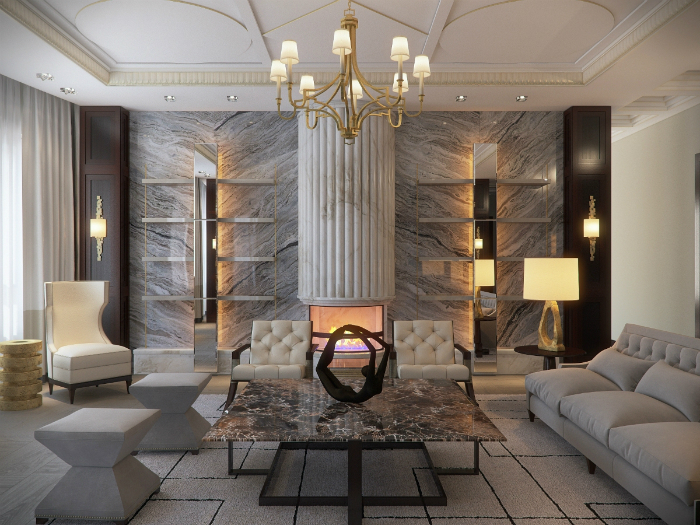 Full-House_Design_dizayn-kvartiry-v-stile-art Deco_pxlr  Частные интерьеры от Full House design Full House Design dizayn kvartiry v stile art Deco pxlr