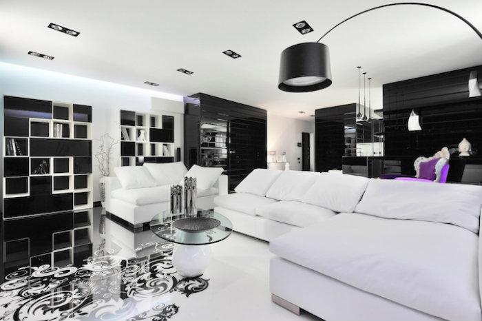 Trendy-chorniy-cvet-v-interyere6  Тренд 2015: Черная Мебель в Дизайне Интерьера  Trendy chorniy cvet v interyere6