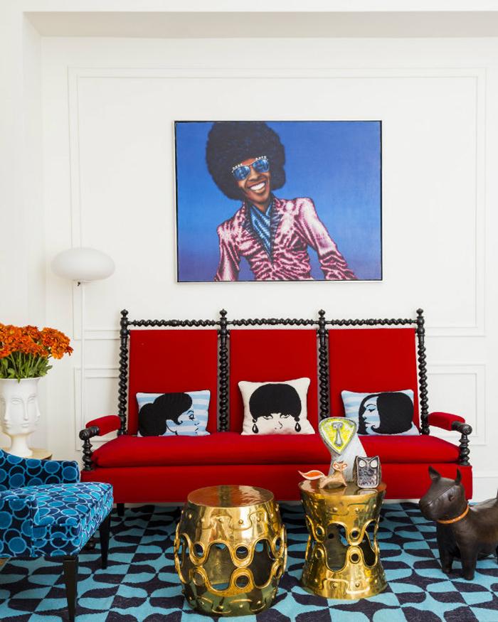 Вдохновение Яркие и разноцветные диваны_04  Вдохновение: Яркие и разноцветные диваны                                                                            04