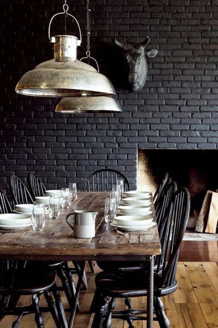 Идеи для столовой в Индустриальном стиле  Идеи для столовой в Индустриальном стиле                                                                             12