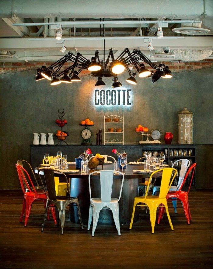 Идеи для столовой в Индустриальном стиле  Идеи для столовой в Индустриальном стиле                                                                             14