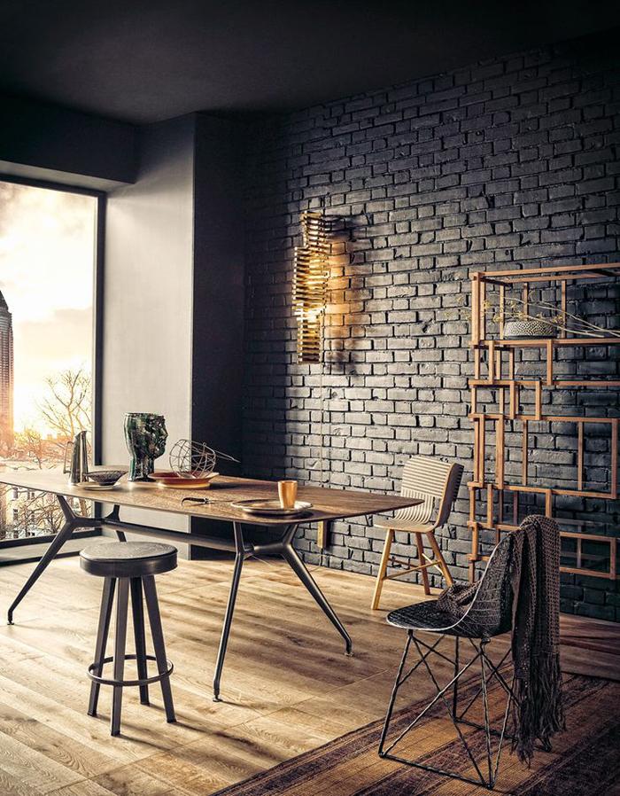 Идеи для столовой в Индустриальном стиле  Идеи для столовой в Индустриальном стиле                                                                             15