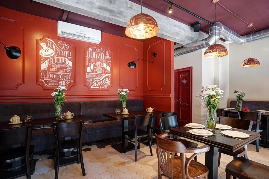 Tiflis_4  ТОП дизайнеры: интерьер ресторана Тифлис Гурмэ в Москве Tiflis 4 e1454603977650