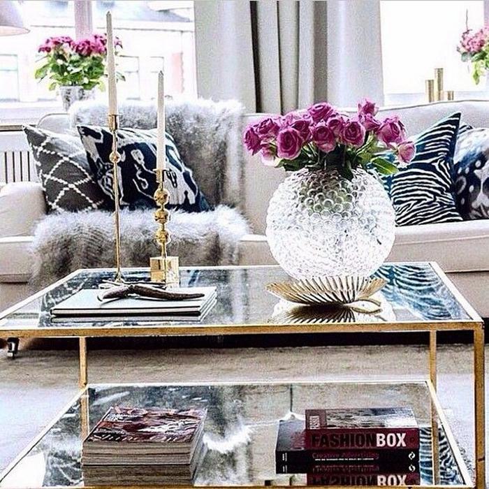 Журнальные Столики для роскошного интерьера